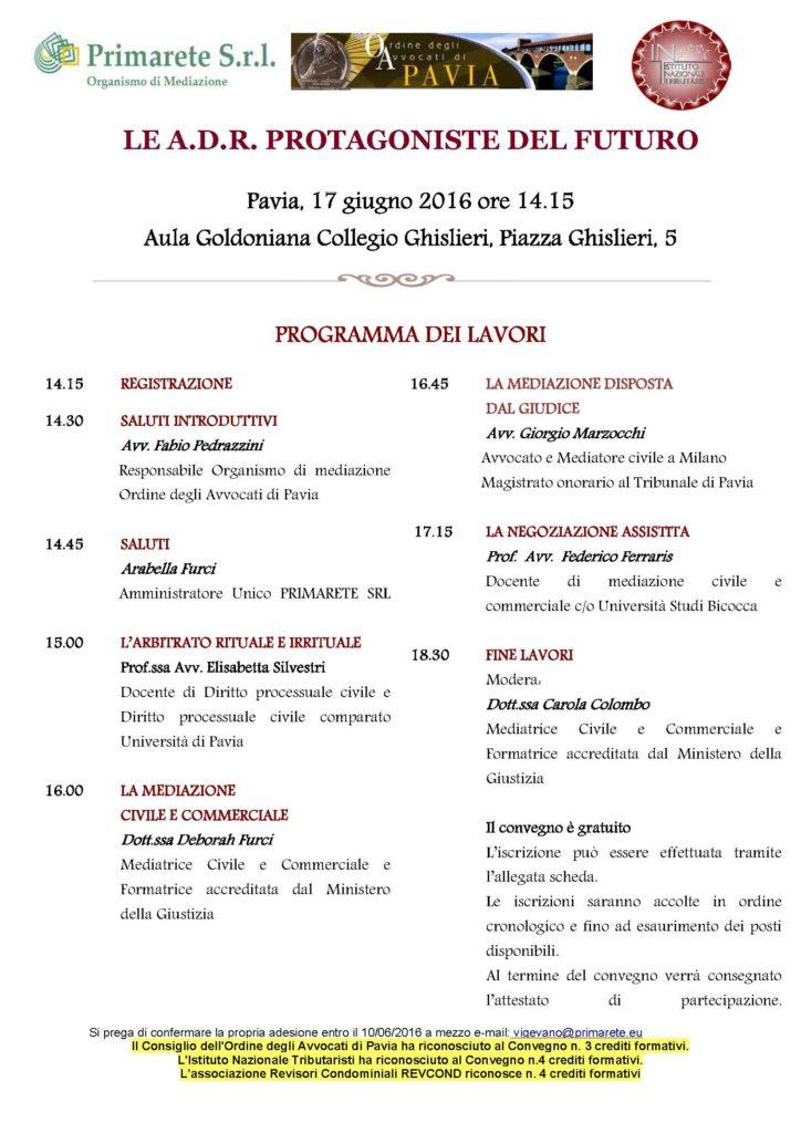 Convegno Pavia