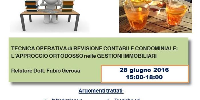 APERISTUDIO: INCONTRI DI STUDIO TRA ASSOCIATI…..CON APERITIVO