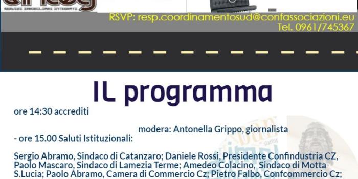 Catanzaro 10 Giugno: Manifesto per l'innovazione del Sud Italia