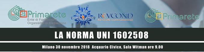 LA NORMA UNI 1602508