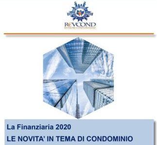 FINANZIARIA 2020 – Le novità in tema di Condominio